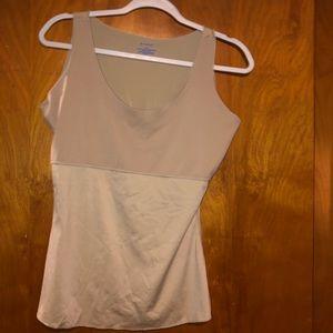 Spanx Nude shapewear tank top plus size 1x